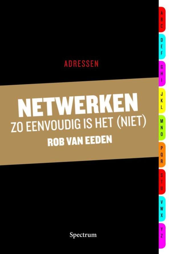 Cover Netwerken zo eenvoudig is het (niet)