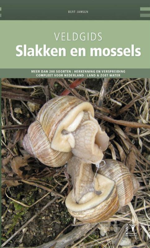 Cover Veldgids Slakken en mossels