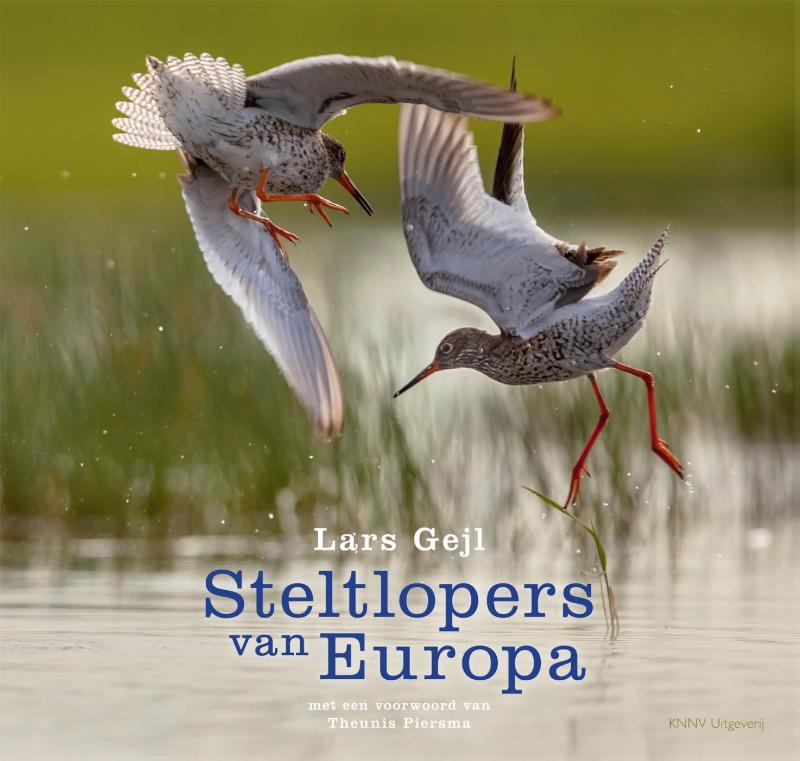 Cover Steltlopers van Europa