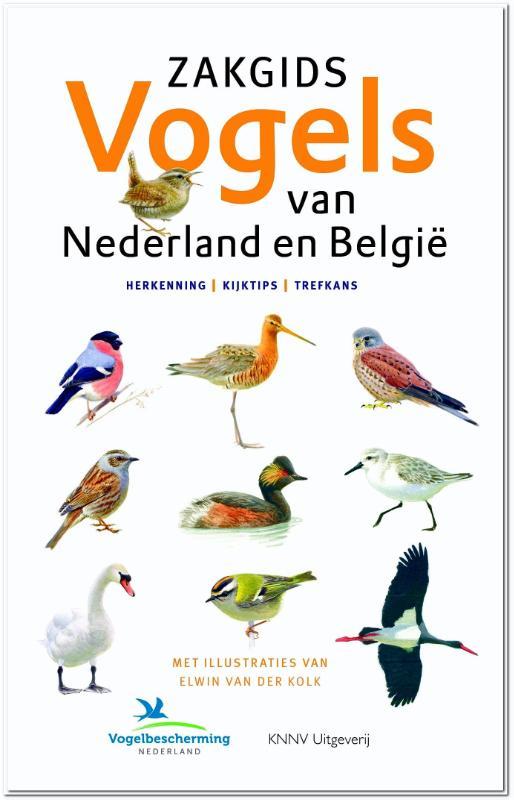Cover Zakgids Vogels van Nederland en België