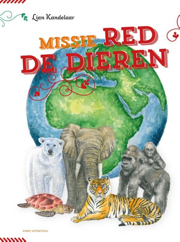 Cover Missie Red de dieren