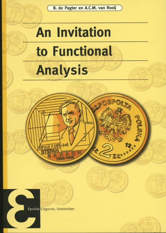 Cover An invitation to functional analysis