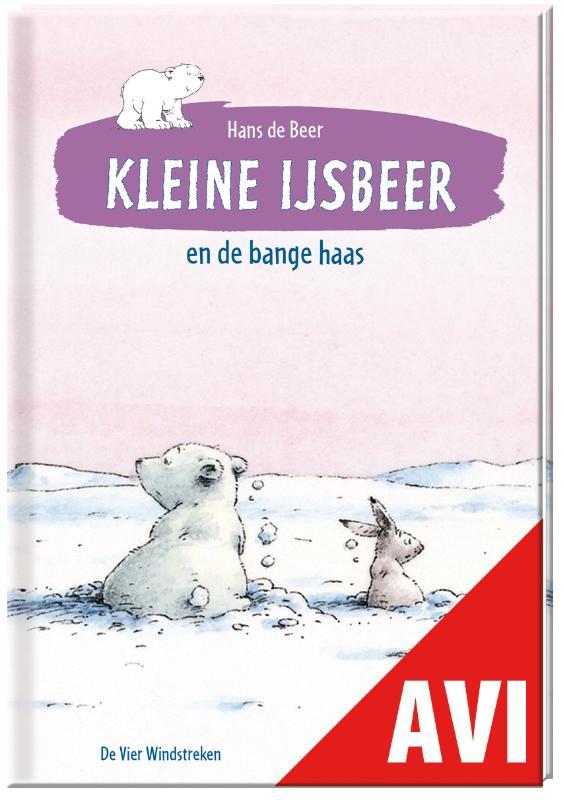 Cover Kleine IJsbeer en de bange haas