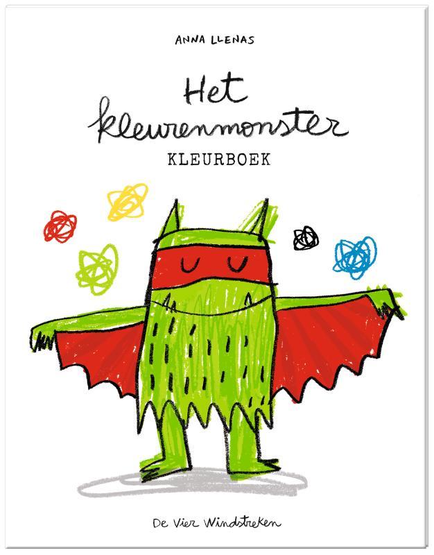 Cover Het kleurenmonster, kleurboek 3 ex.