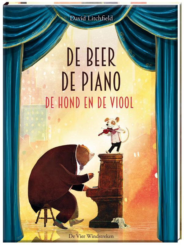 Cover De beer, de piano, de hond en de viool
