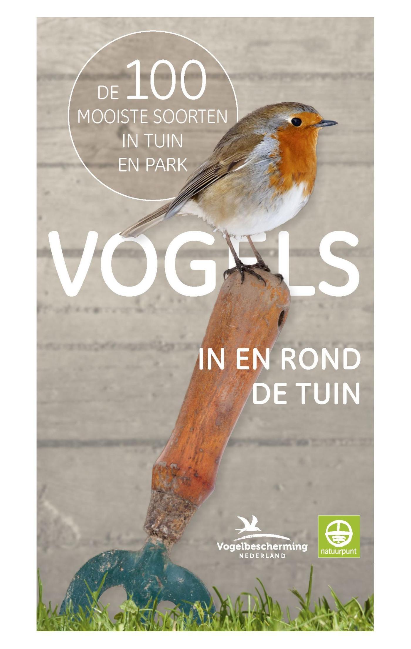 Cover Vogels in en rond de tuin