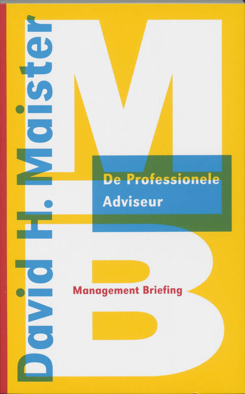 Cover De professionele adviseur