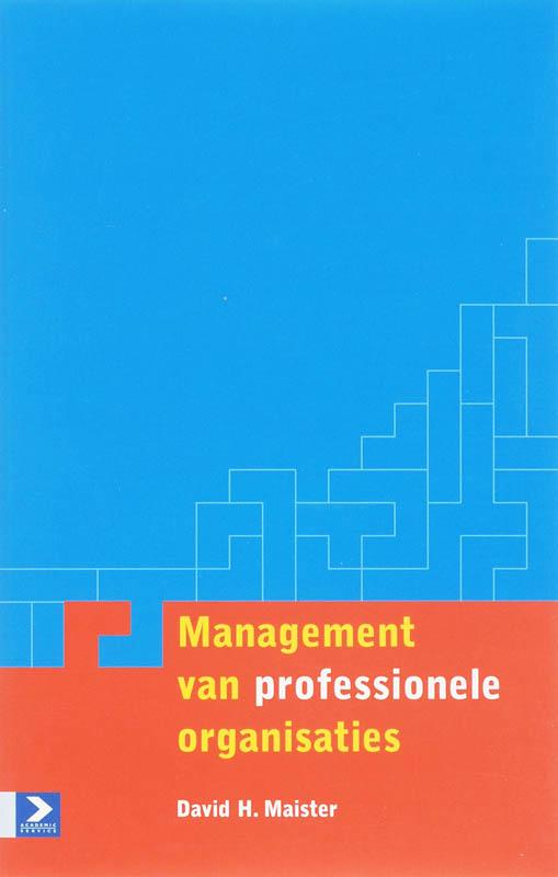 Cover Management van professionele organisaties