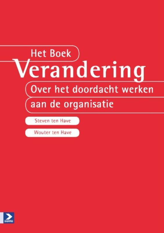 Cover Het boek verandering