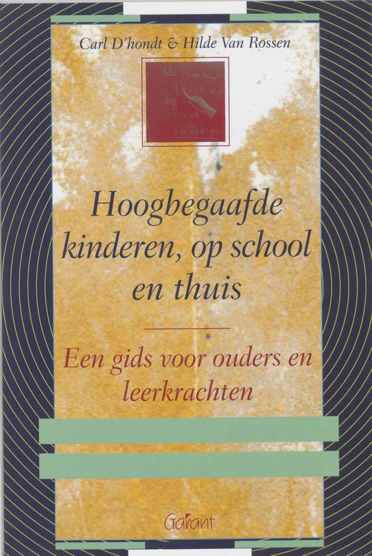 Cover Hoogbegaafde kinderen, op school en thuis