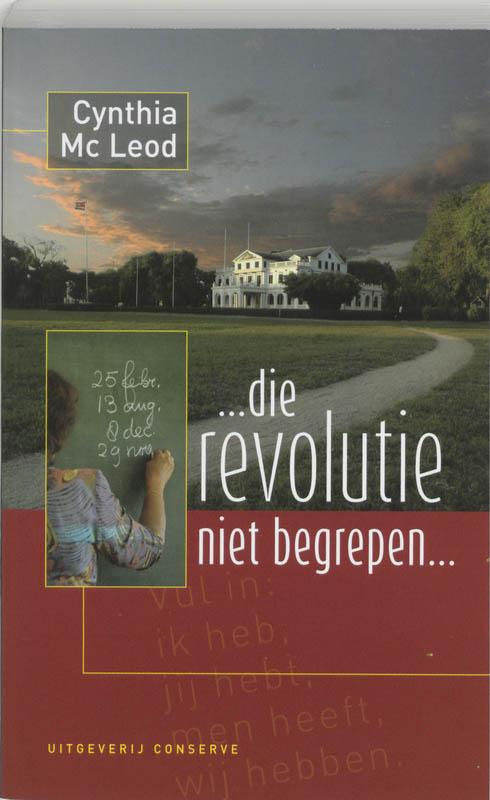 Cover ... die revolutie niet begrepen!...