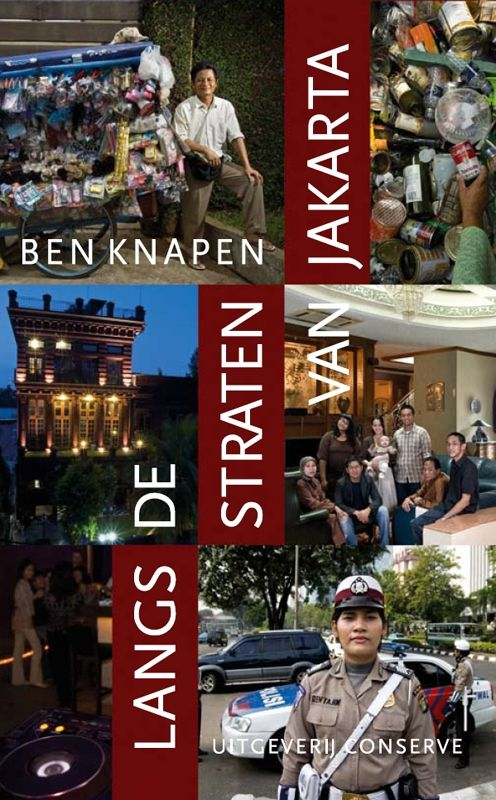 Cover Langs de straten van Jakarta