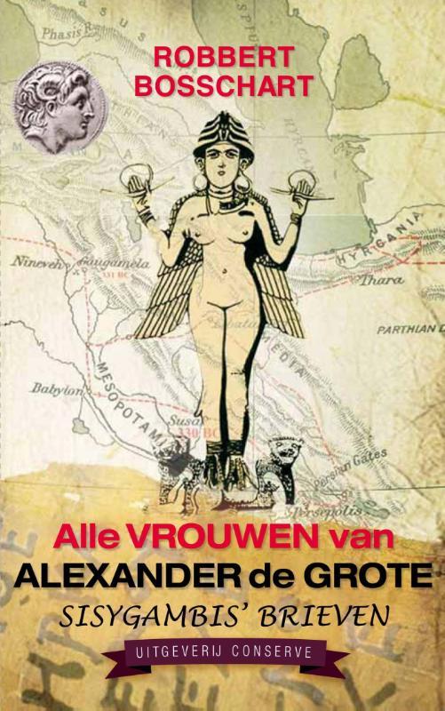 Cover Alle vrouwen van Alexander de Grote