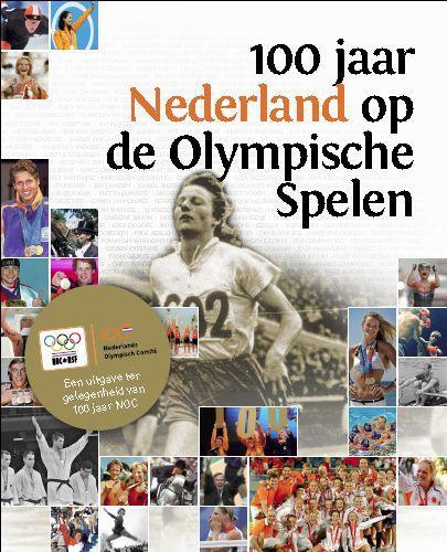 Cover 100 jaar Nederland op de olympische spelen