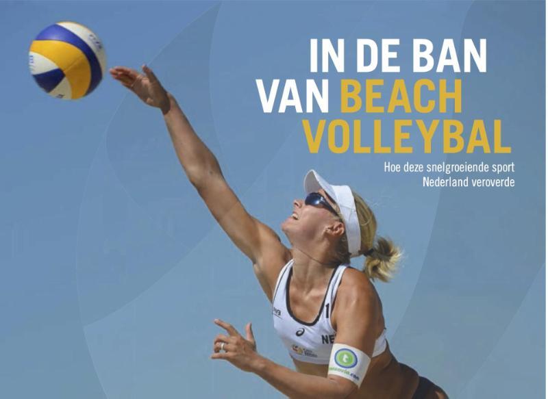 Cover In de ban van beachvolleybal