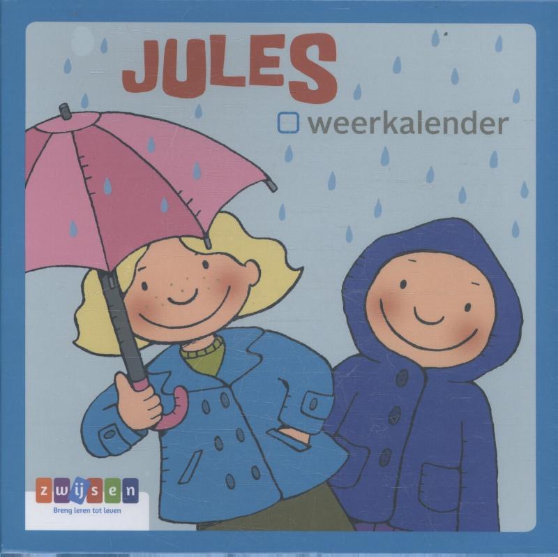 Cover JULES - kaartenset weerkalender