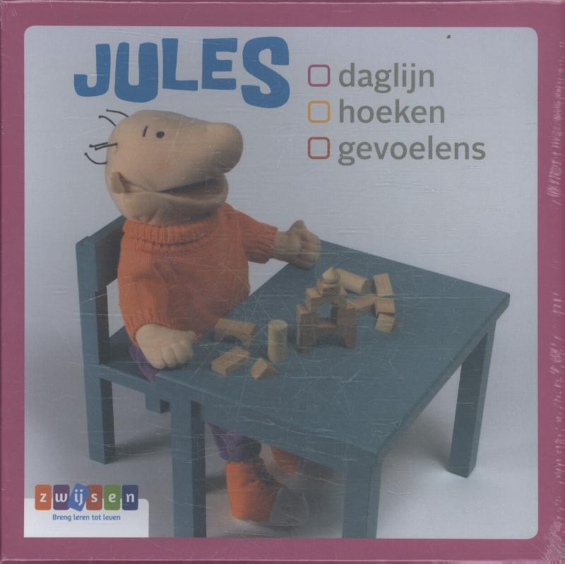Cover JULES - kaartenset daglijn - hoeken - gevoelens