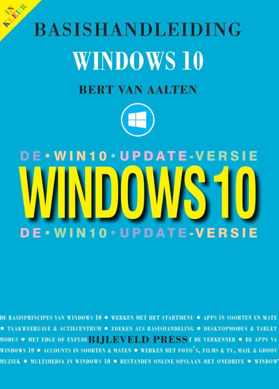 Cover Basishandleiding Windows 10