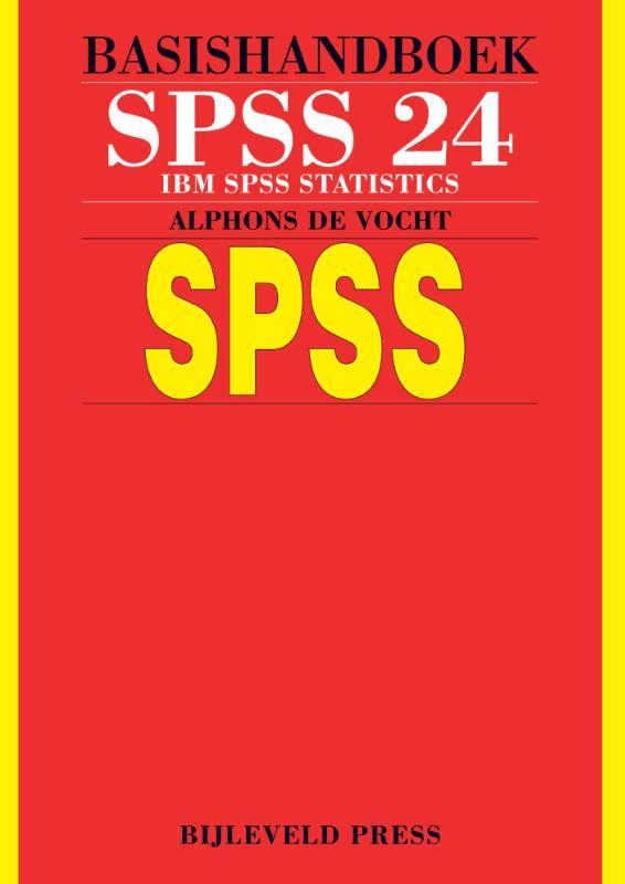 Cover Basishandboek SPSS 24
