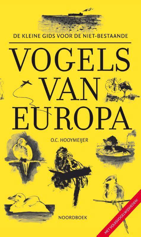 Cover De kleine gids voor de niet-bestaande vogels van Europa