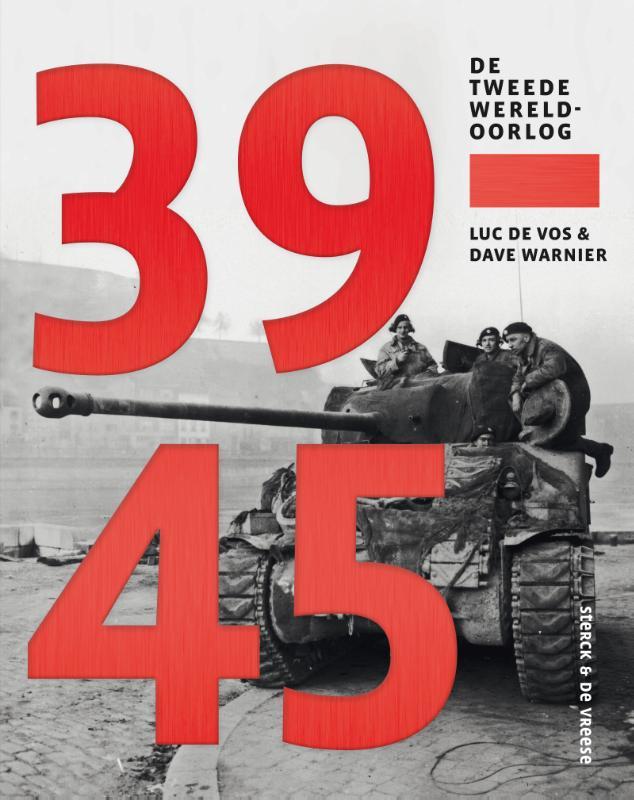 Cover 39-45. De Tweede Wereldoorlog