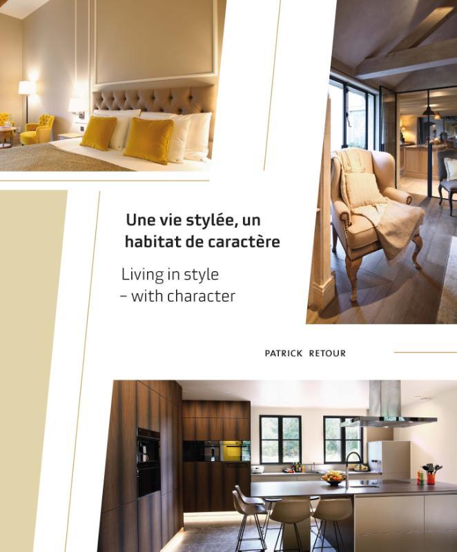 Cover Une vie stylée, un habitat de caractère