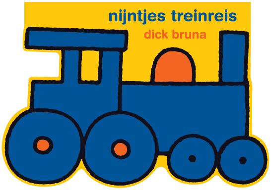 Cover nijntjes treinreis