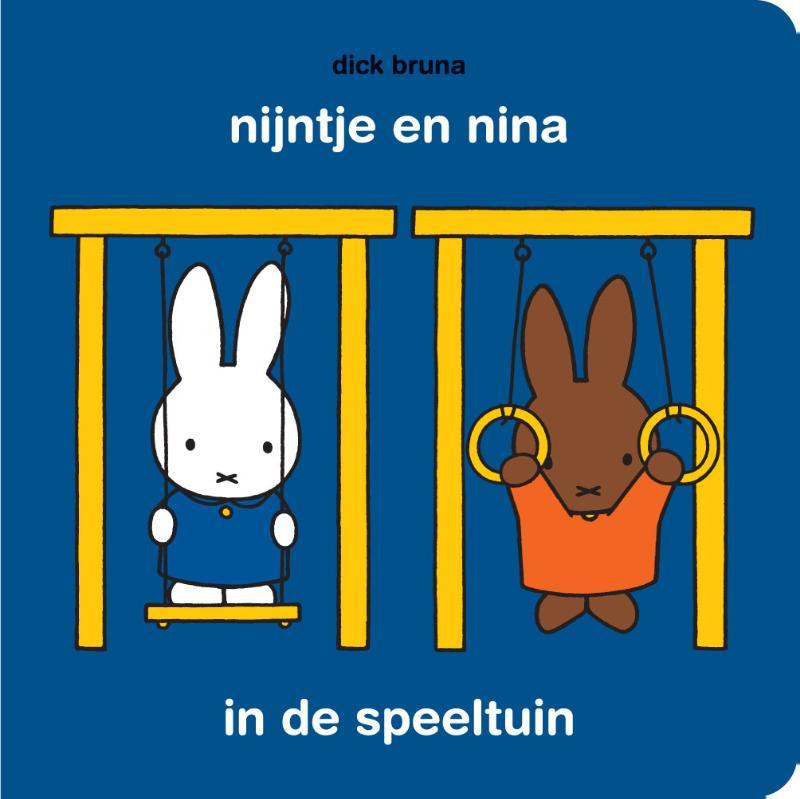 Cover nijntje en nina in de speeltuin