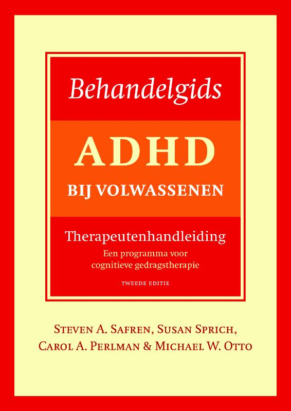 Cover Behandelgids ADHD bij volwassenen
