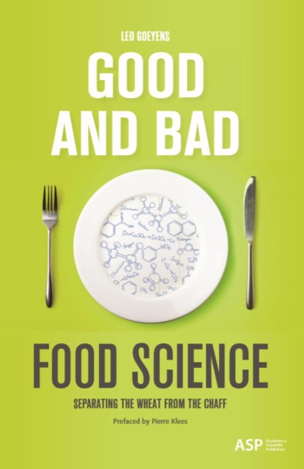 Cover Good and Bad Food Science