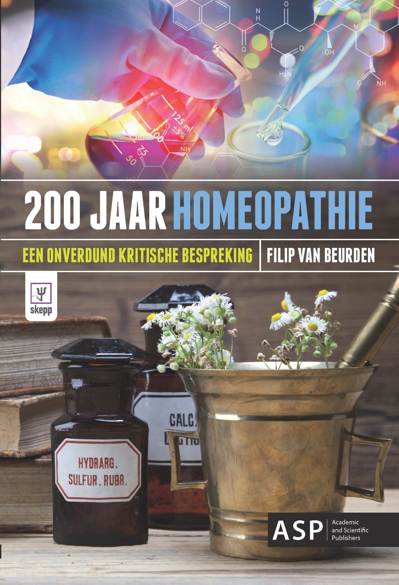 Cover 200 jaar homeopathie