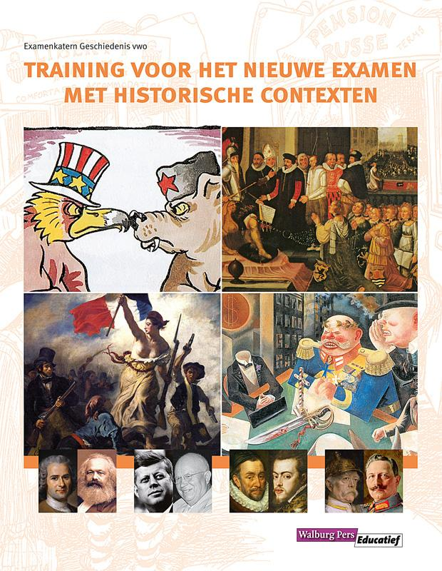 Cover Training voor het nieuwe examen met historische contexten