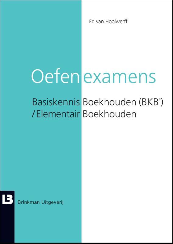 Cover Oefenexamens boekhouden (BKB) / elementair boekhouden