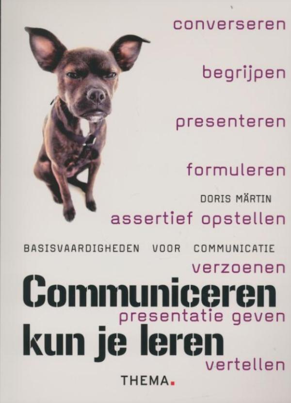 Cover Communiceren kun je leren