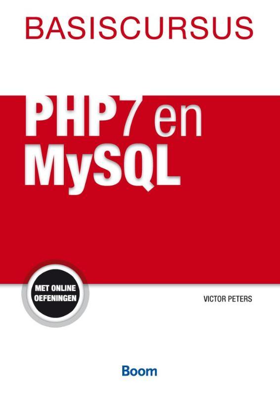 Cover Basiscursus PHP7 en MySQL
