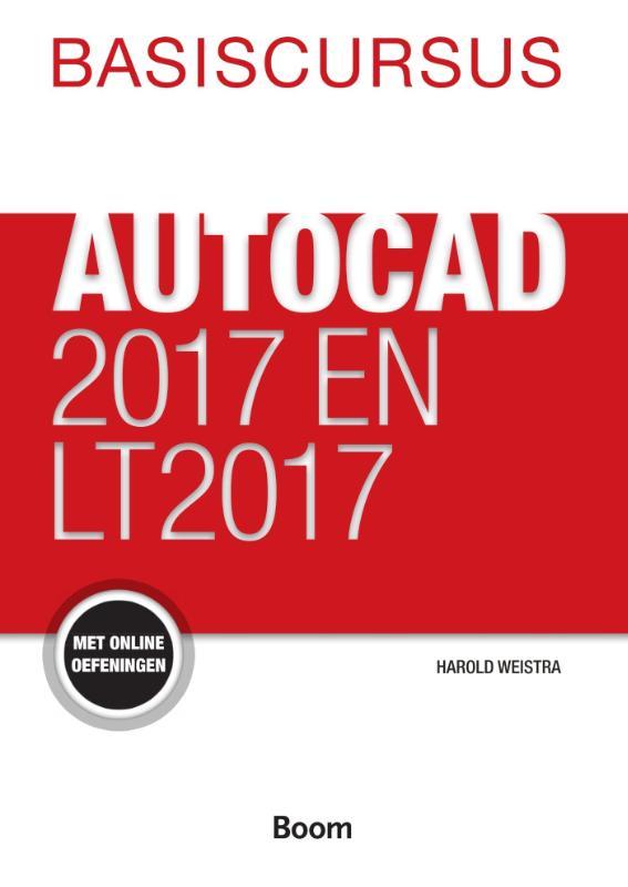Cover Basiscursus AutoCad 2017 en LT 2017