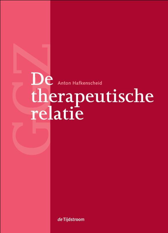 Cover De therapeutische relatie