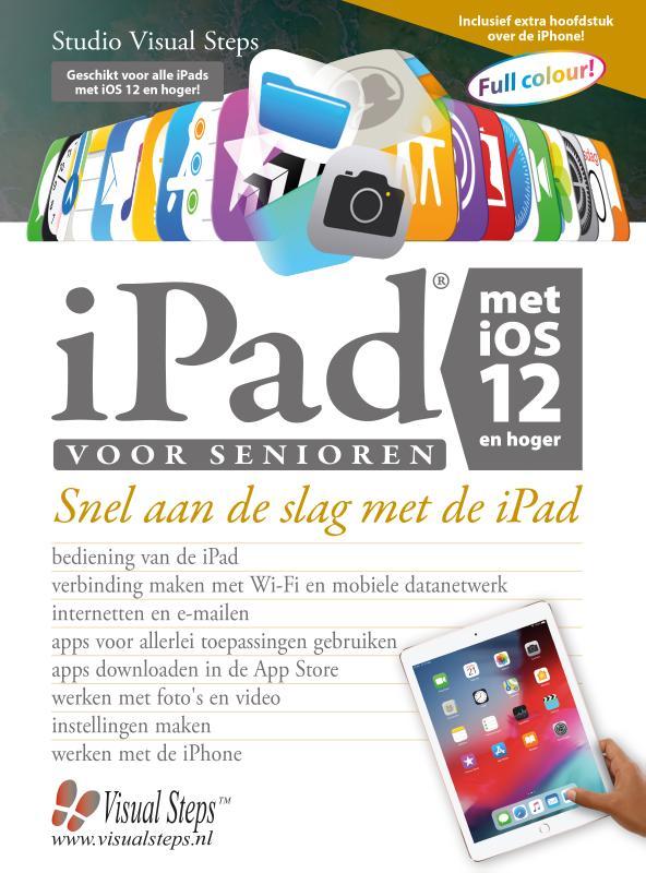 Cover iPad voor senioren met iOS 12 en hoger