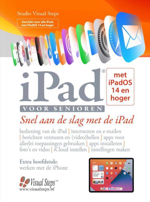 Cover iPad voor senioren met iPadOS 14 en hoger