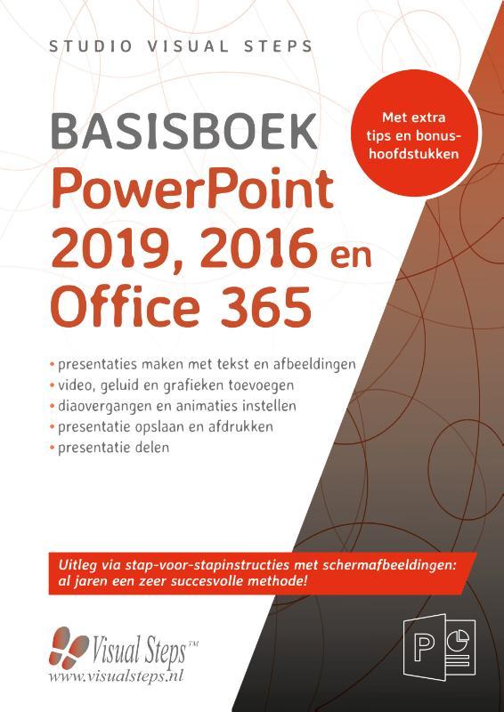 Cover PowerPoint 2019, 2016 en Office 365