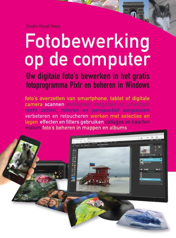 Cover Fotobewerking op de computer