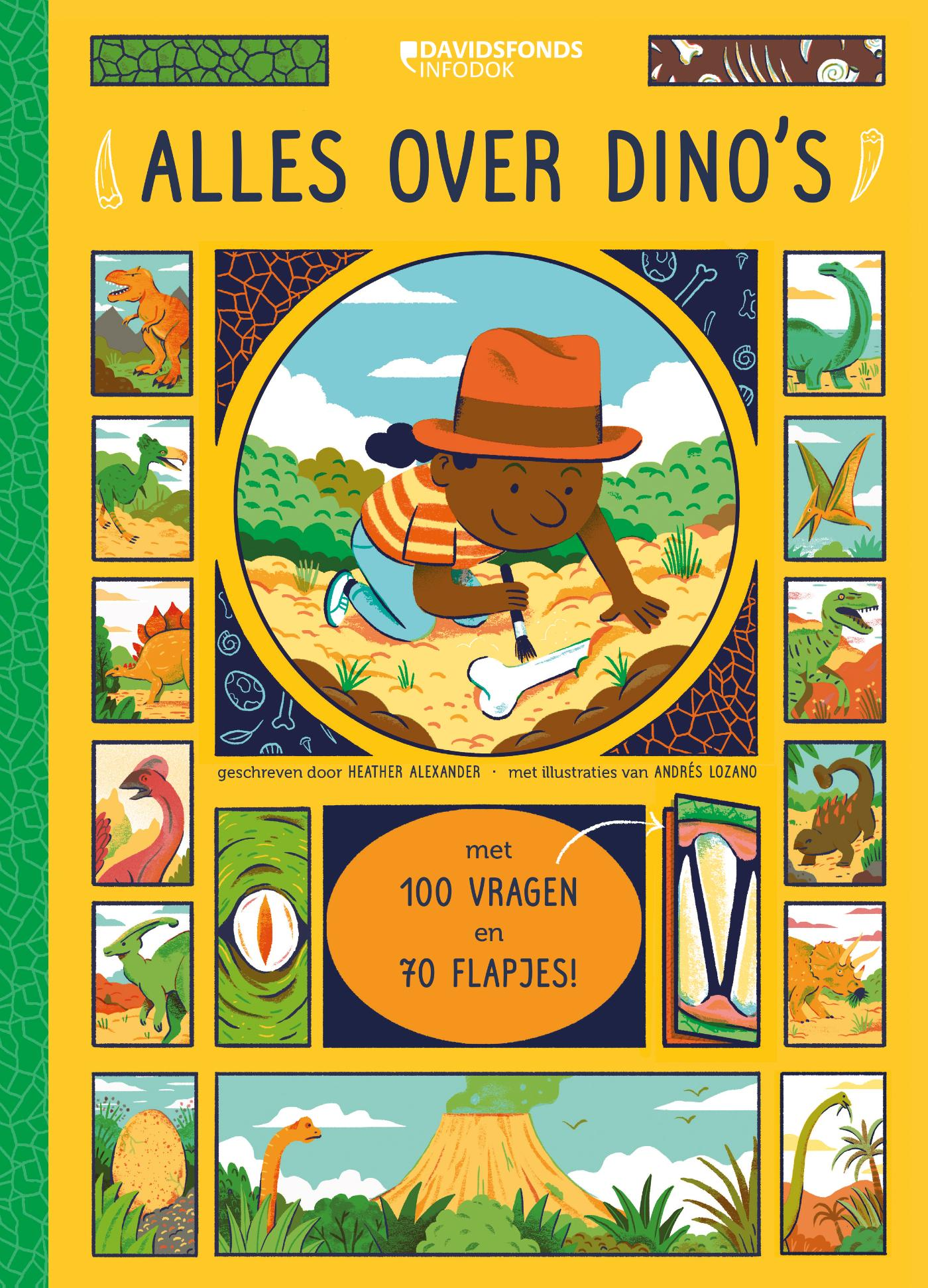 Cover Alles over dino's