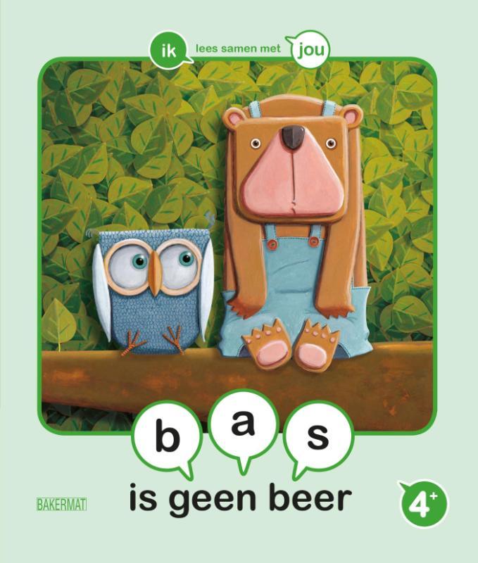 Cover Bas is geen beer