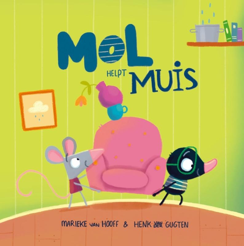 Cover Mol helpt Muis