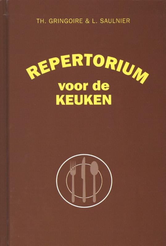 Cover Repertorium voor de keuken