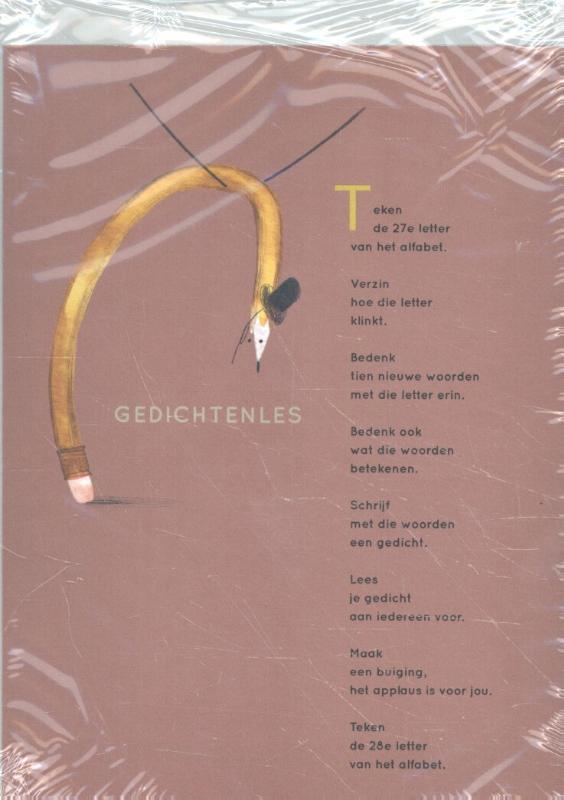 Cover Plint 10 kaarten Gedichtenles Tim Gladdines