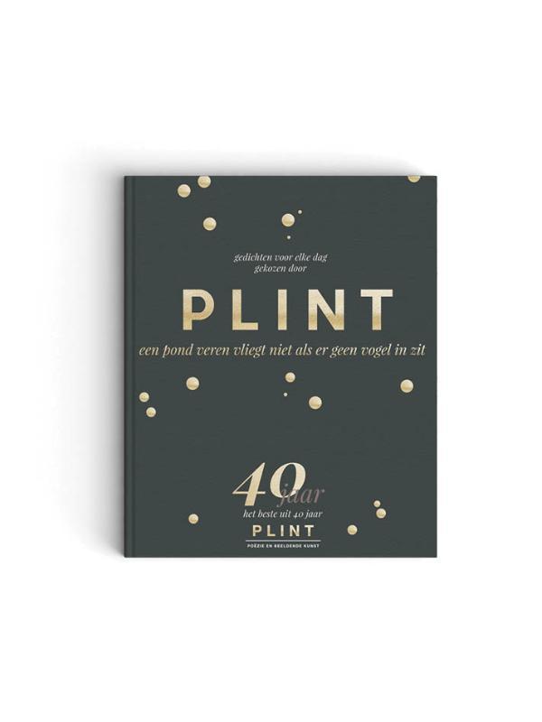 Cover Plint Jubileumboek 40 jaar Plint