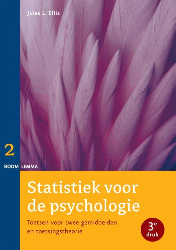 Cover Deel 2 toetsen voor twee gemiddelden en toetsingstheorie