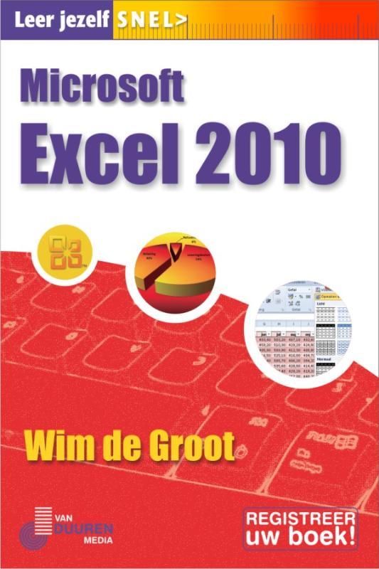 Cover Excel 2010, Leer jezelf SNEL...