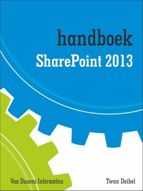 Cover Handboek SharePoint 2013